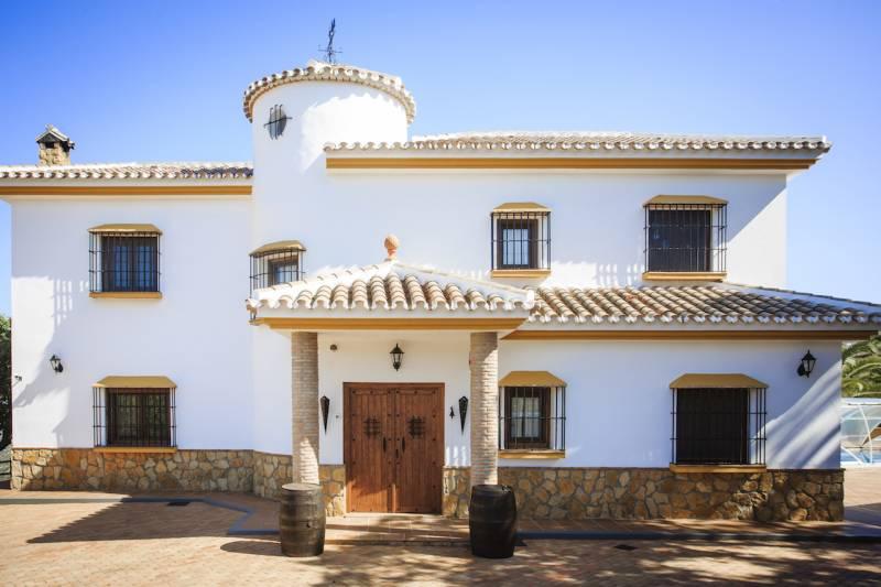 Riogordo,Malaga,Andalousie,Espagne,4 Chambres Chambres,2 Salles de bainsSalles de bains,Villa,3600
